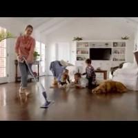 Čistenie laminátovej podlahy