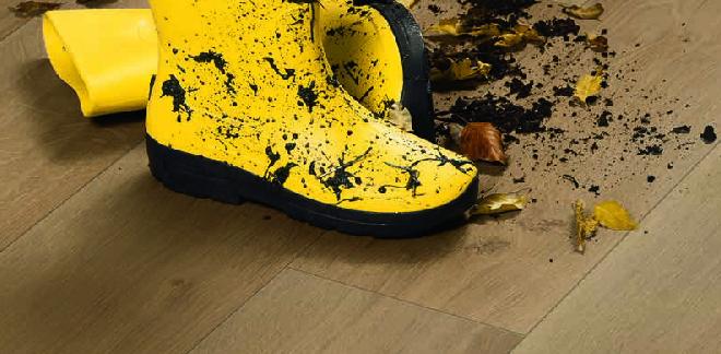 odolnosť podláh, čistenie podlahy, špinavé parkety